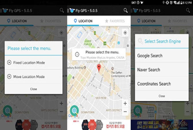 Download Fly GPS All Versions - Android Infotech