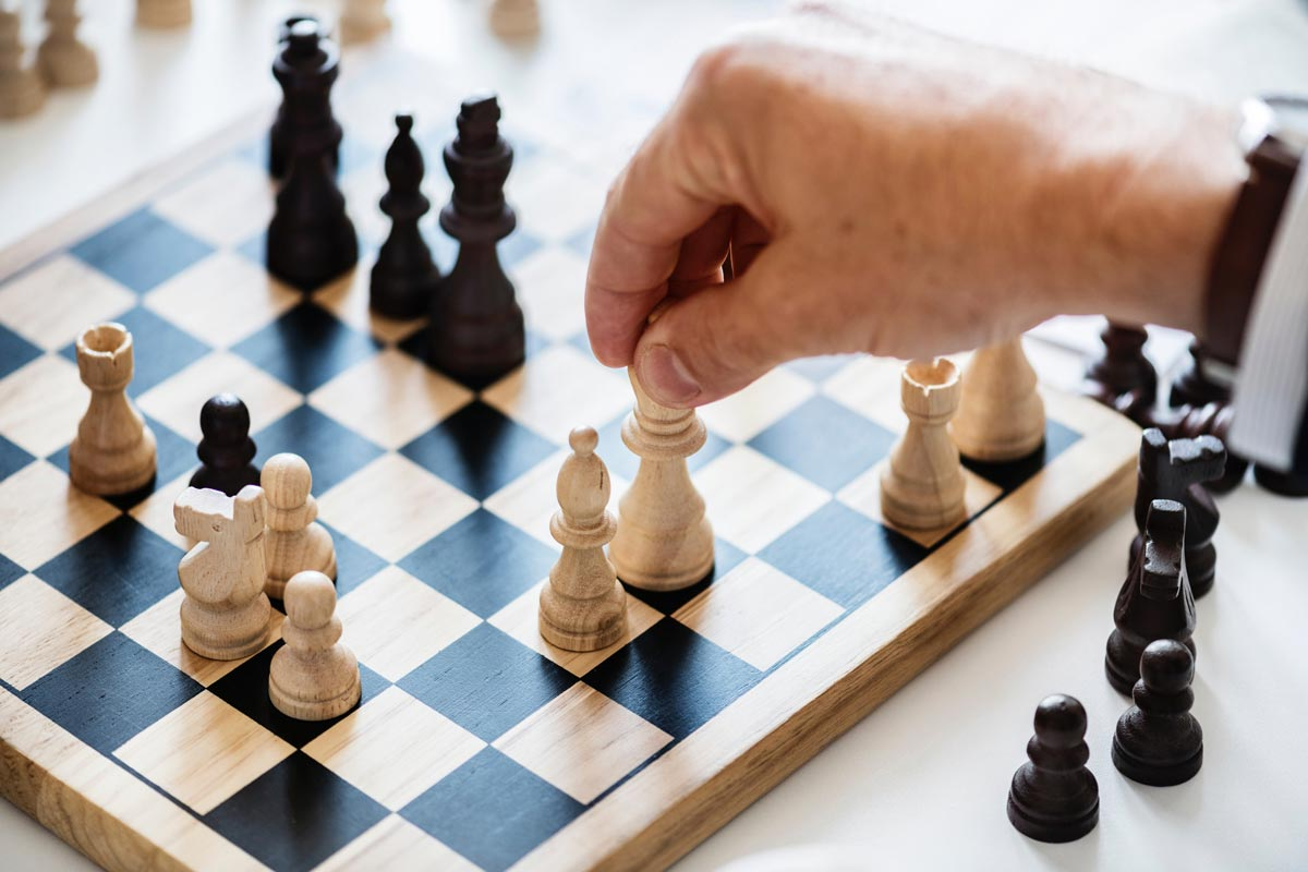 Moving King in Chess