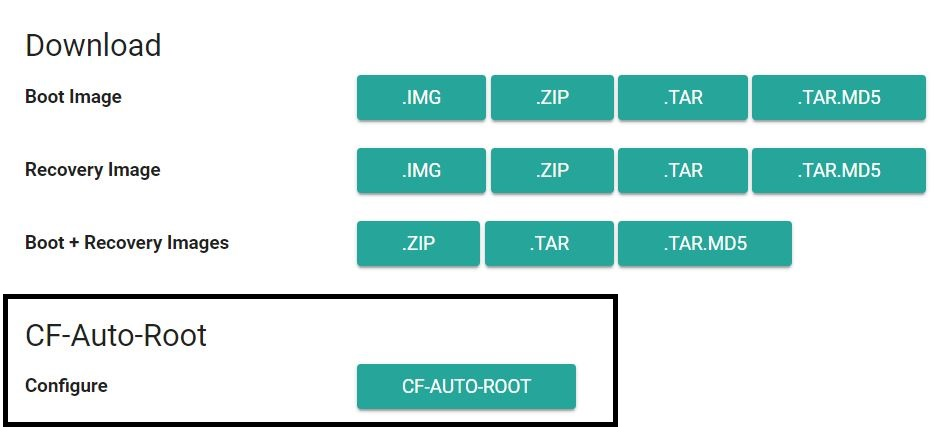 CF Root selection