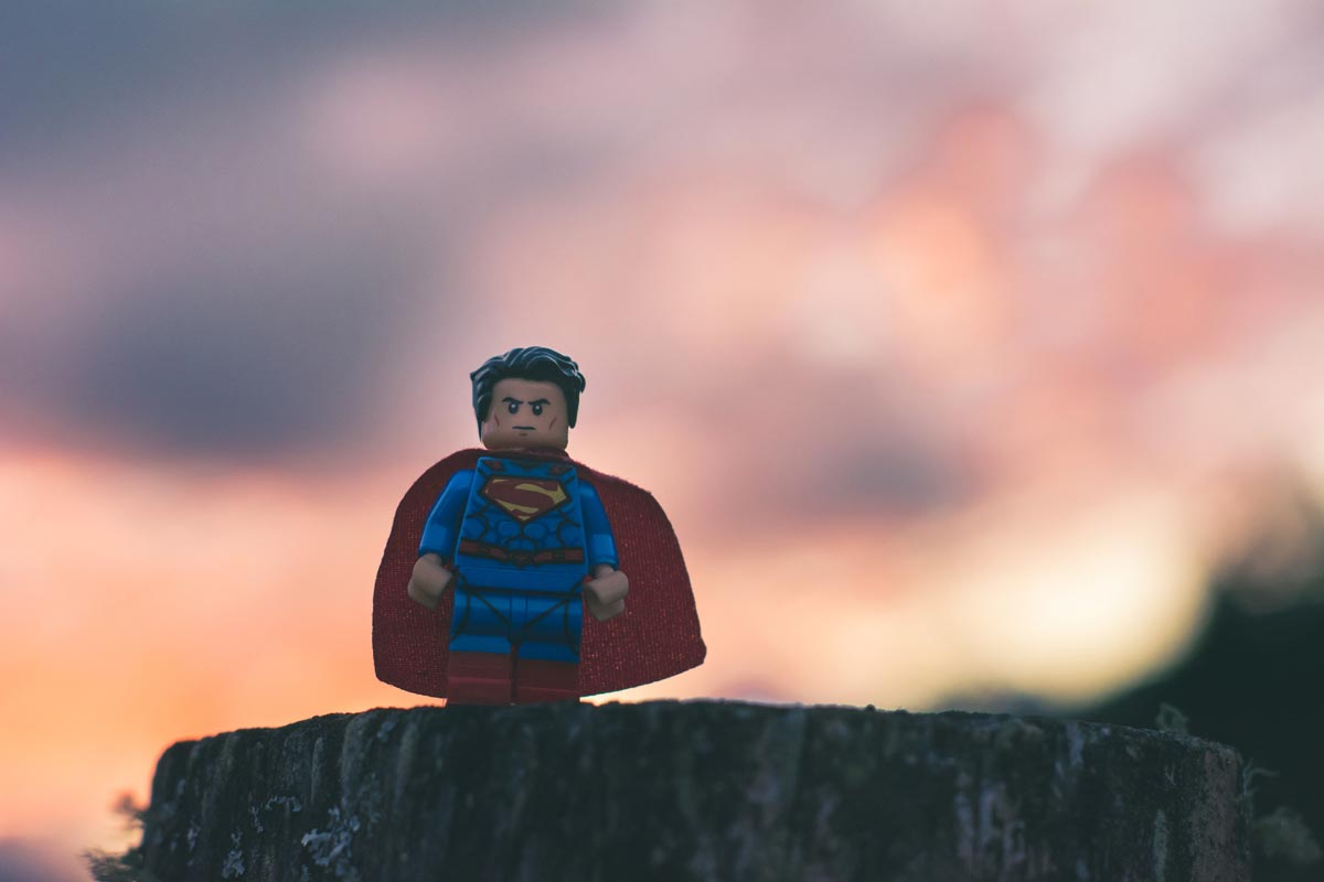 Super Man Lego Toy