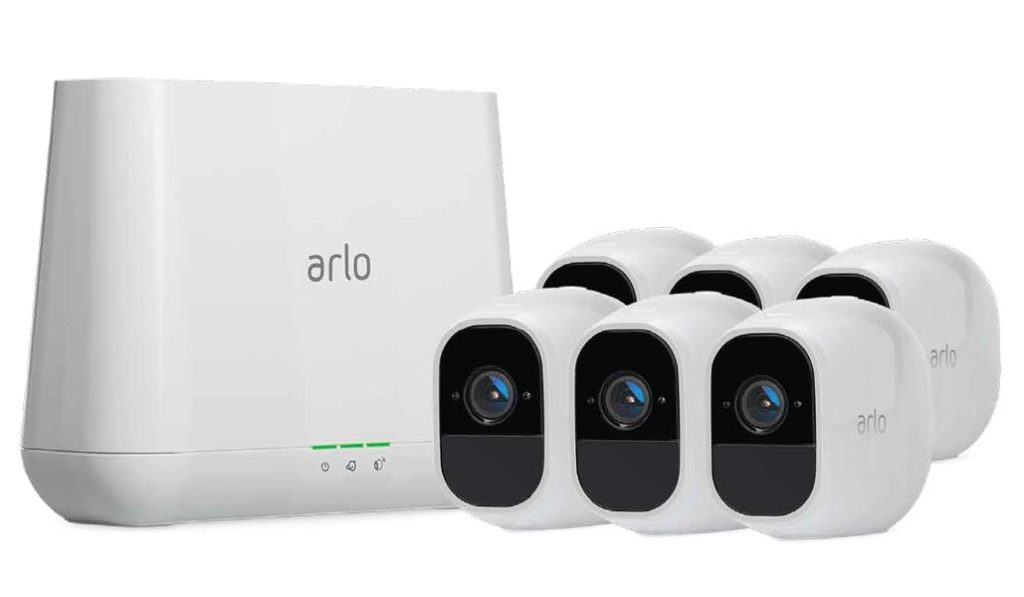 Arlo Pro 2 Security Cam 6 Pack with Router