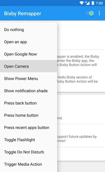 bixby remap options