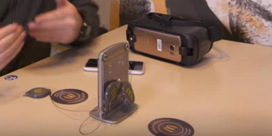 mcdonalds wireless charging