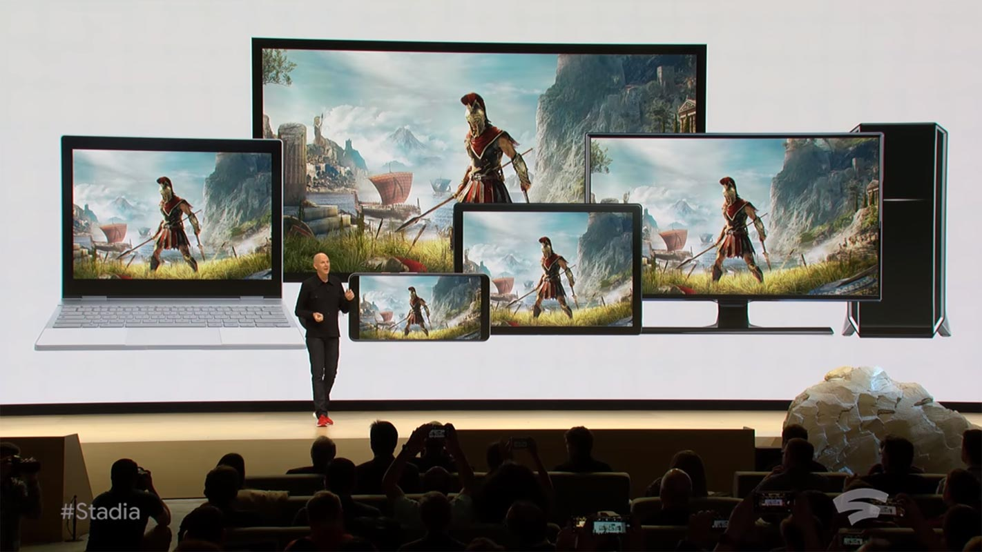 Google Stadia Announcement All Devices