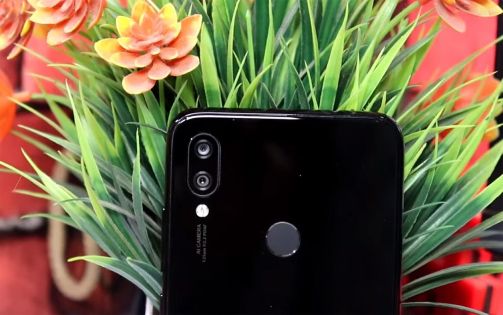 Redmi Note 7 Pro rear dual camera