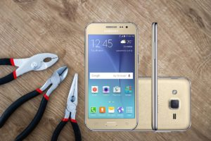 Samsung Galaxy J2 With Tools