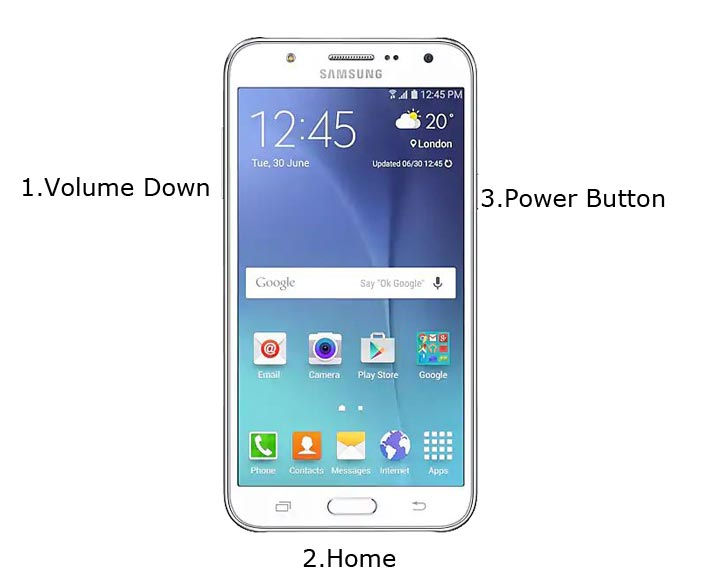 Samsung Galaxy J7 Download Mode