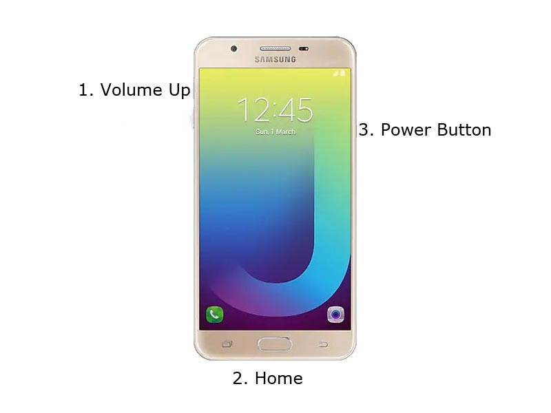 Samsung J7 Prime Recovery mode