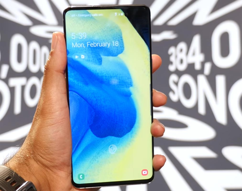 Samsung S10 5g Display