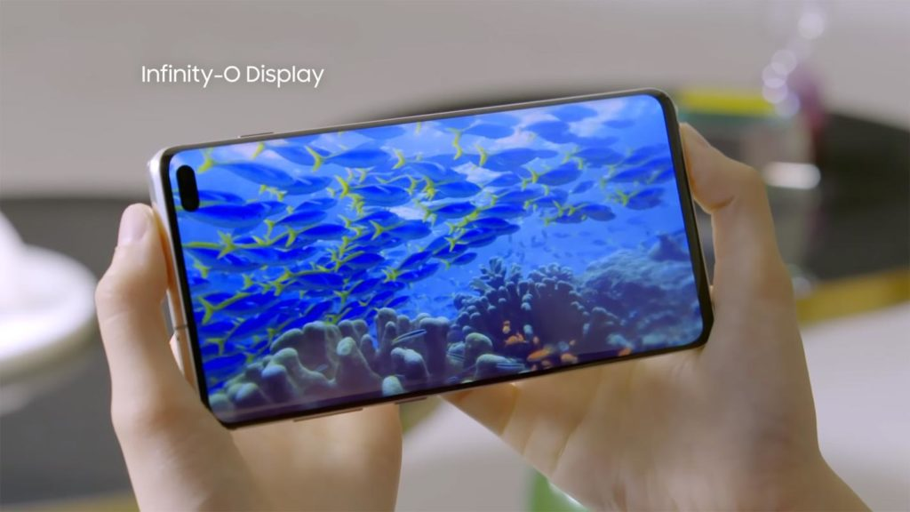 Samsung S10 Display