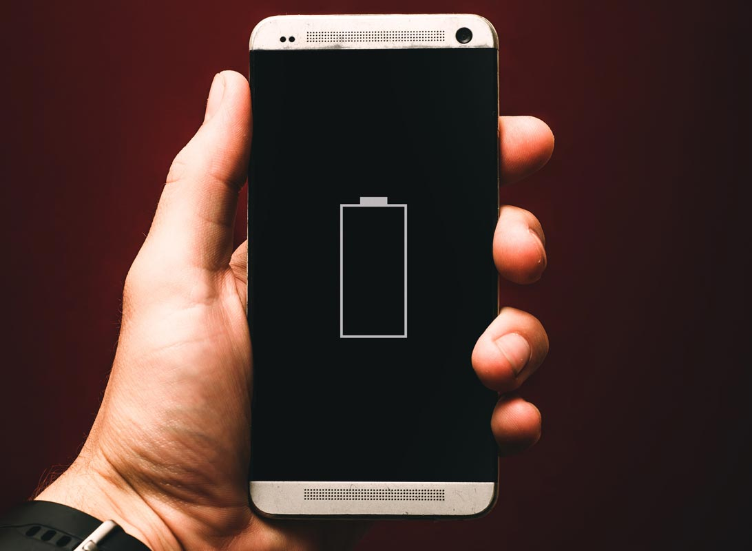 Battery Capacity Showing in Phone
