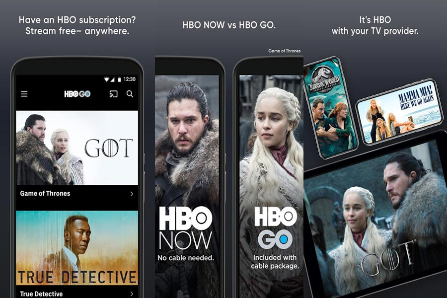 HBO Go app Screenshots