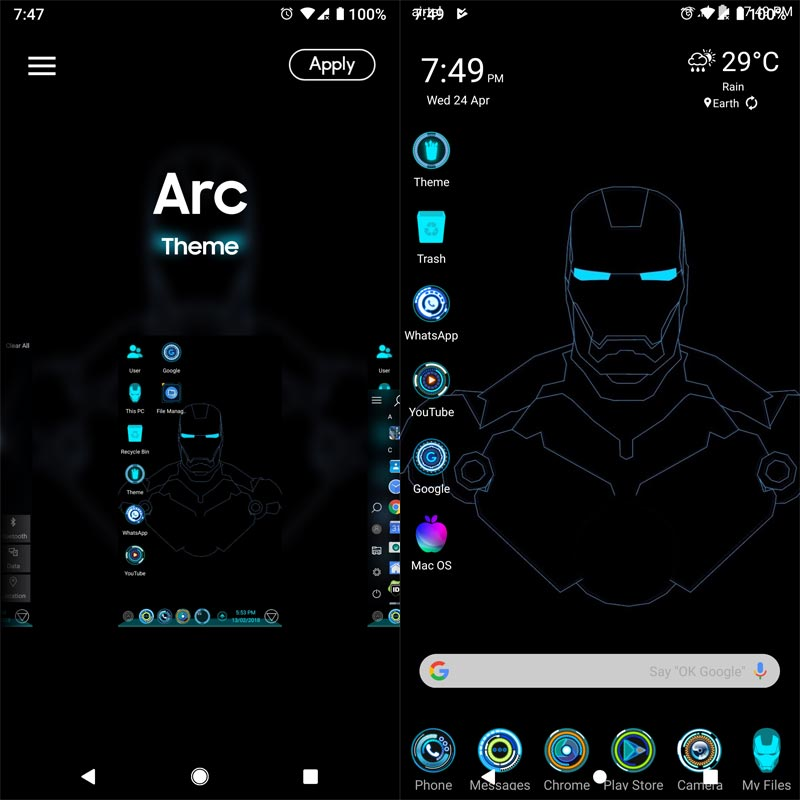 Three Best Avengers Themes You should try on your Mobile - Android