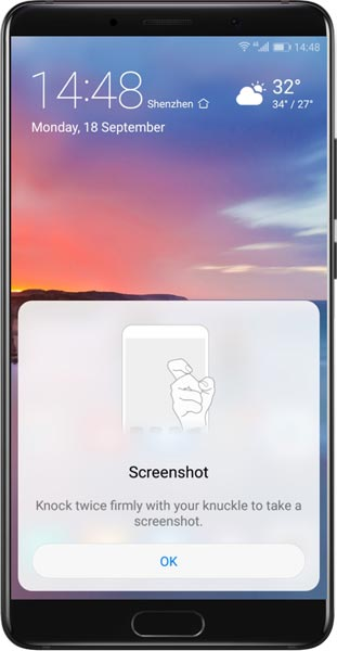 Knock Screenshot Huawei