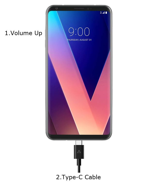 LG V30 Download Mode