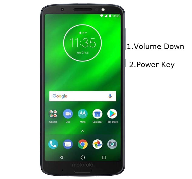 Moto G6 Plus Fastboot Mode