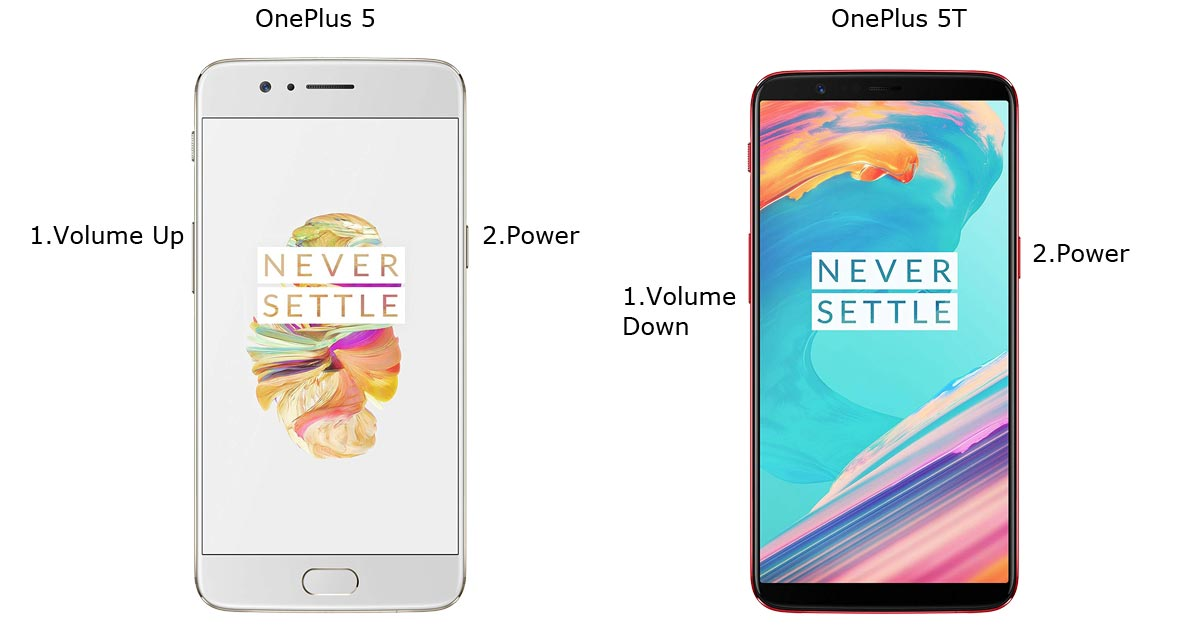 OnePlus 5 and 5T Fastboot Mode