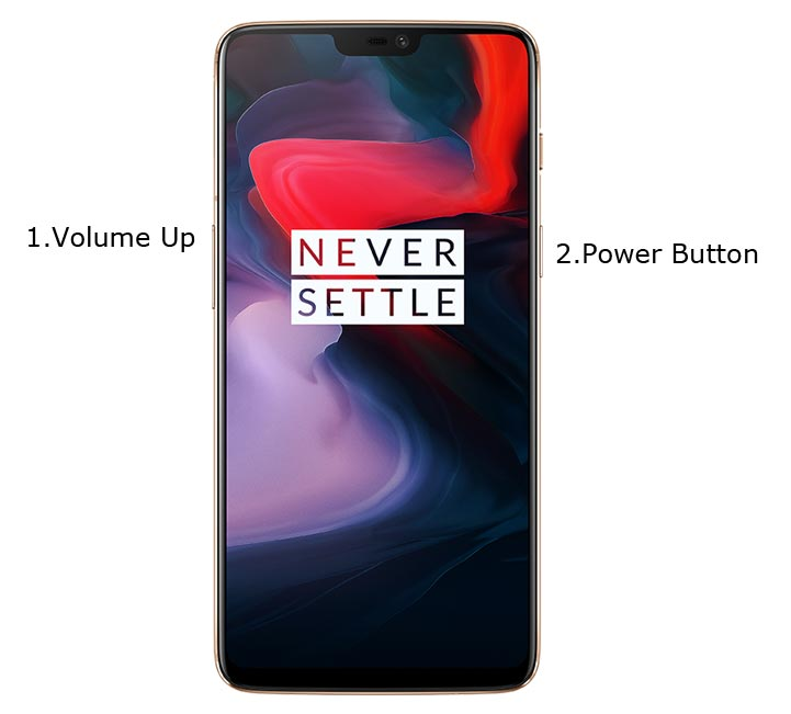OnePlus 6 Fastboot mode