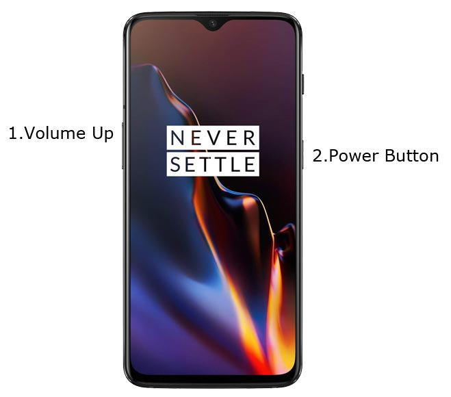 OnePlus 6T Fastboot Mode