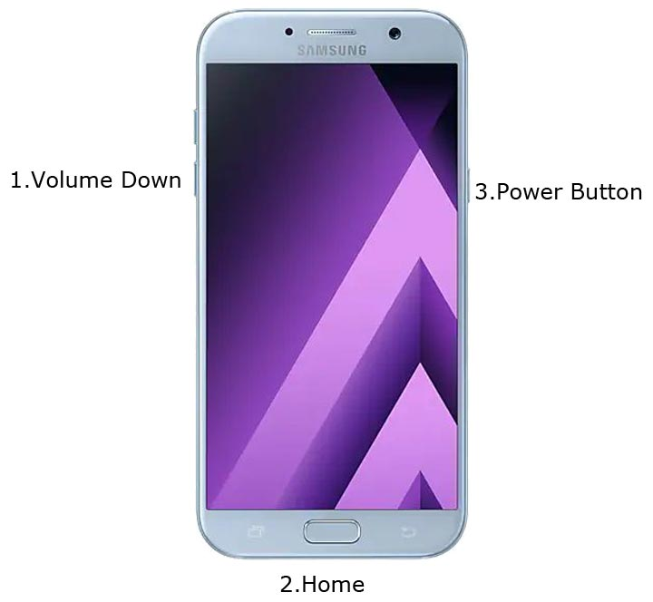 Samsung A7 2017 Download Mode