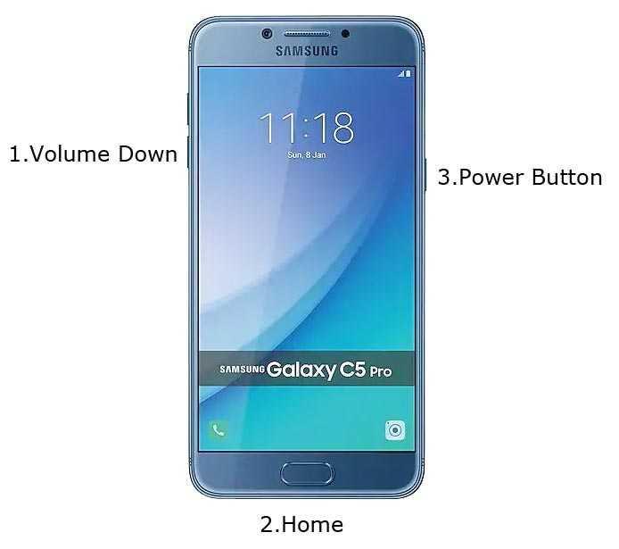 Samsung C5 Pro Download Mode