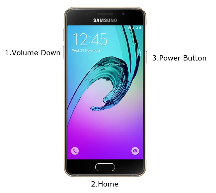 Samsung Galaxy A3 2016 Download Mode
