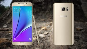 Samsung Galaxy Note 5 wirh root Background