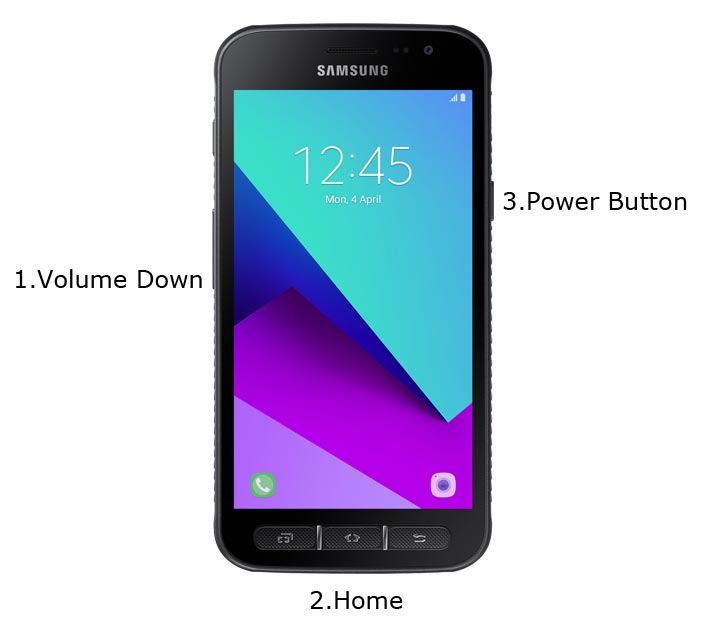Samsung Galaxy Xcover 4 Download Mode