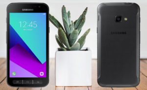 Samsung Galaxy Xcover 4 with Small Plants