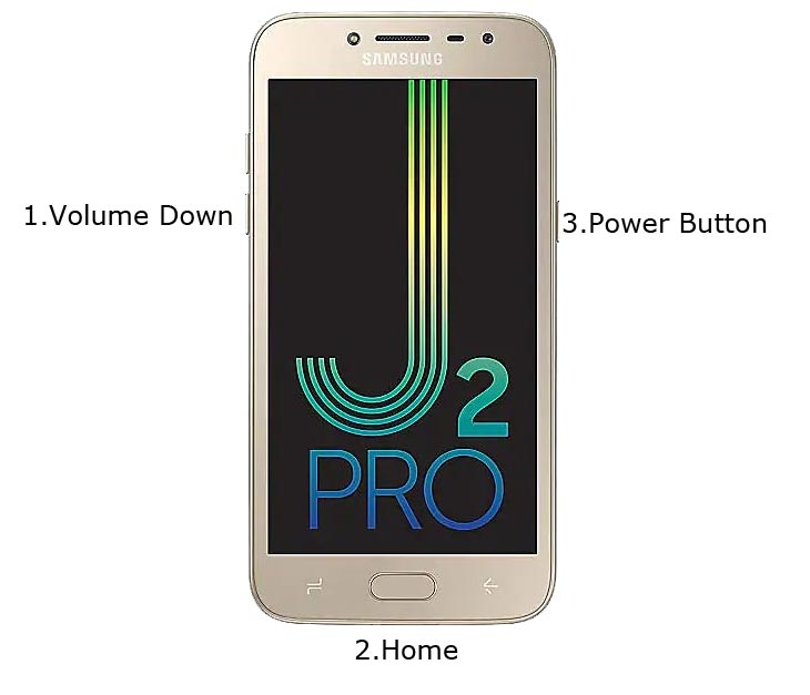Samsung J2 Pro Download Mode