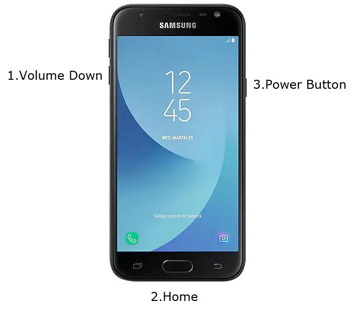 Samsung J3 2017 Download Mode
