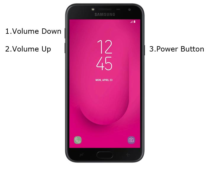 Samsung J4 Download Mode