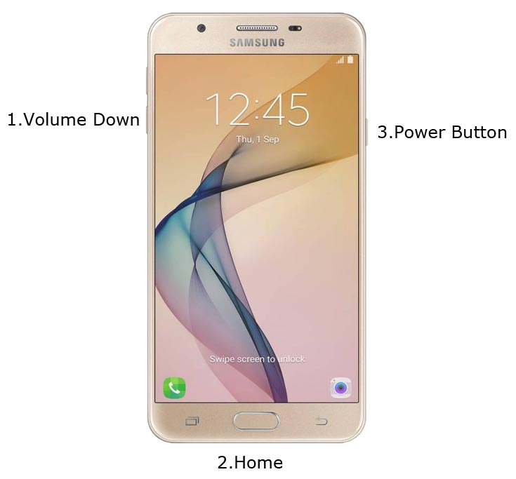 Samsung J5 Prime Download Mode