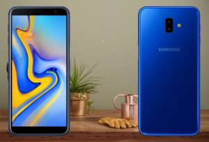 Samsung J6 Plus with Golden Kettle