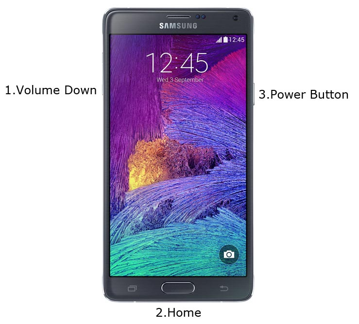 Samsung Note 4 Download Mode