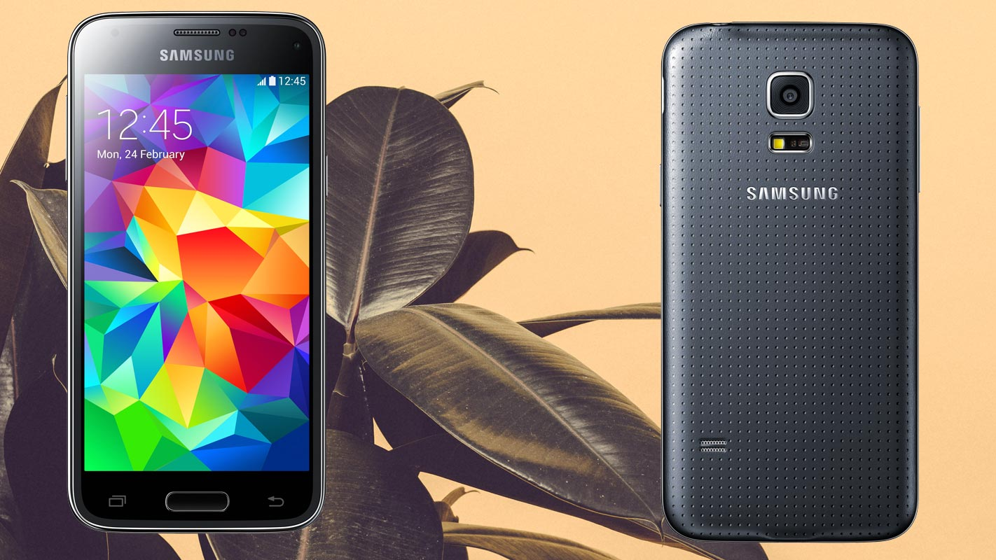 Samsung S5 Mini with Leafs