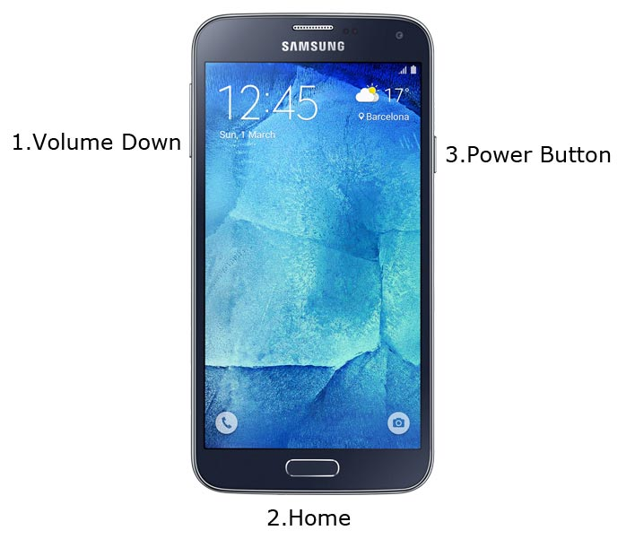 Samsung S5 Neo Download Mode