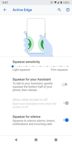Squeeze Function in Pixel devices