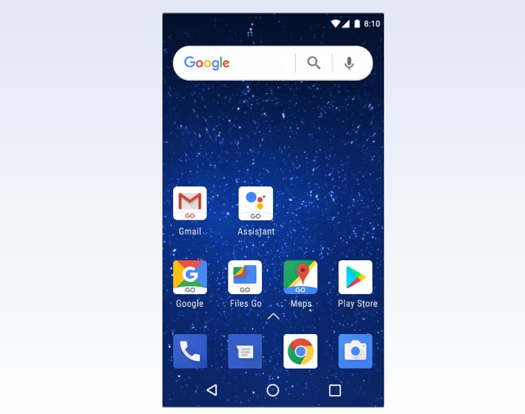 Android Go Screenshot