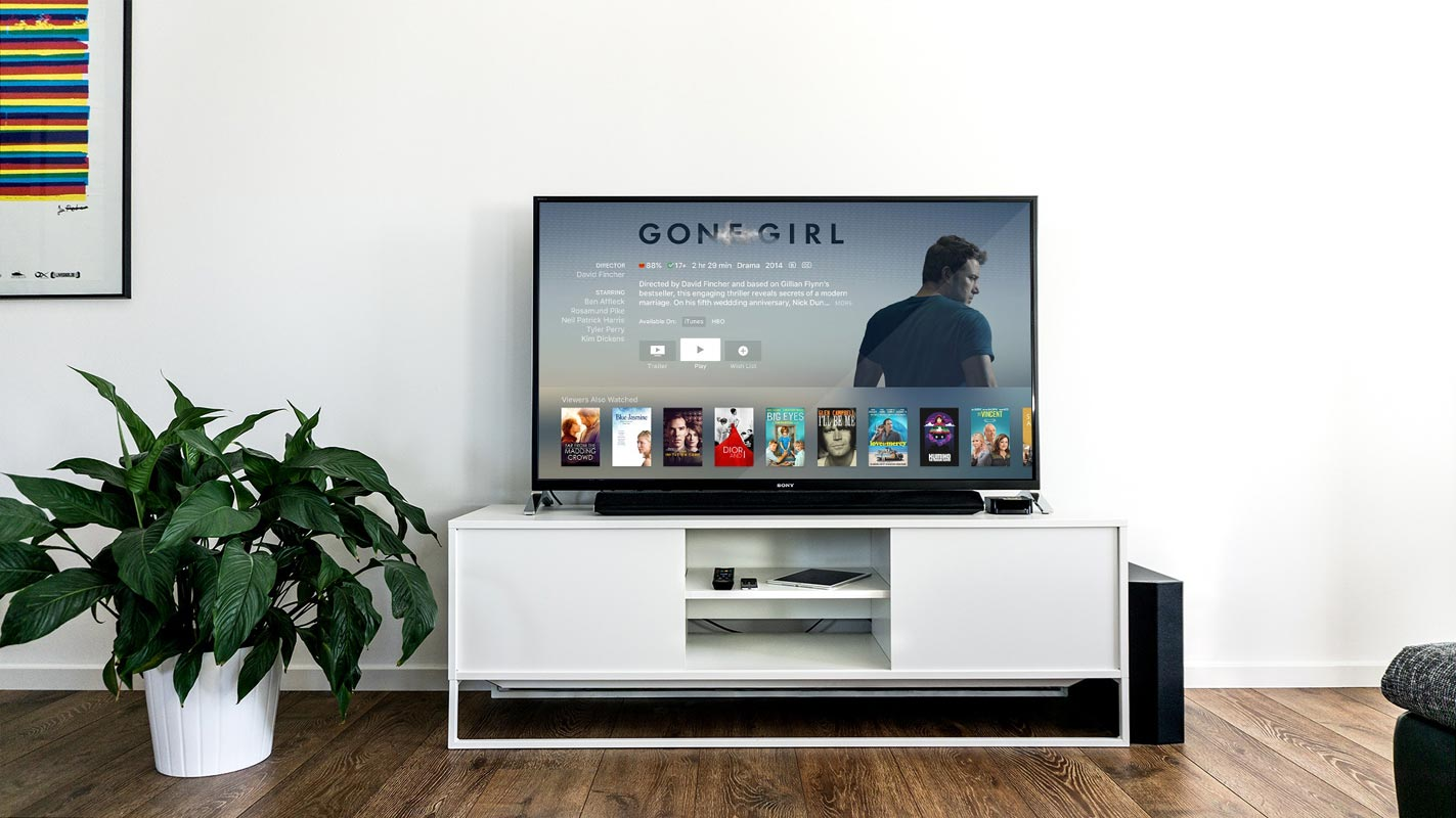 Android Tv with Interior