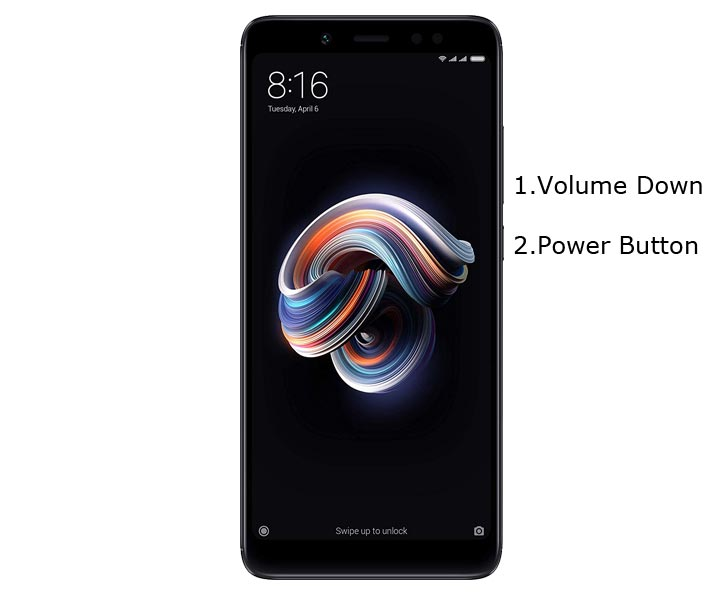 Redmi Note 5 Pro Fastboot Mode