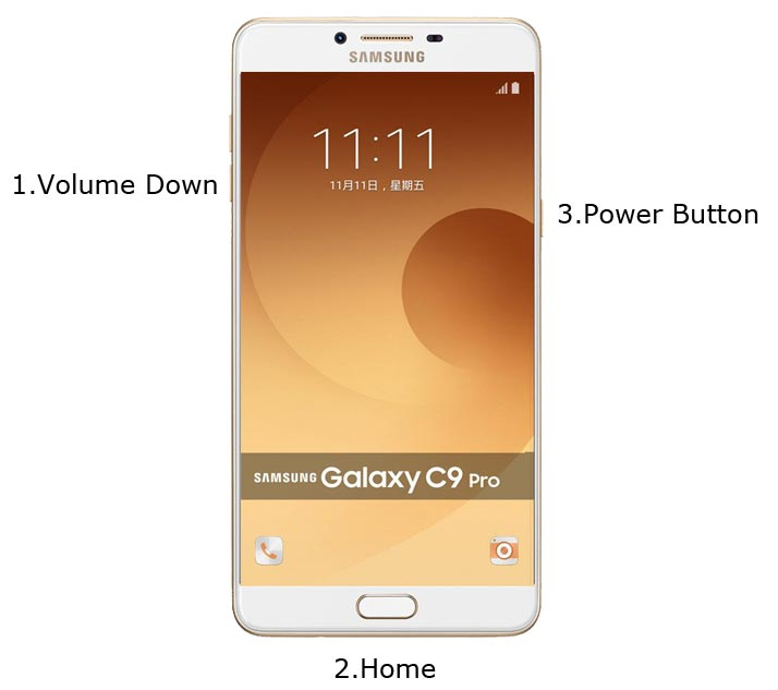 Samsung Galaxy C9 Pro Download Mode