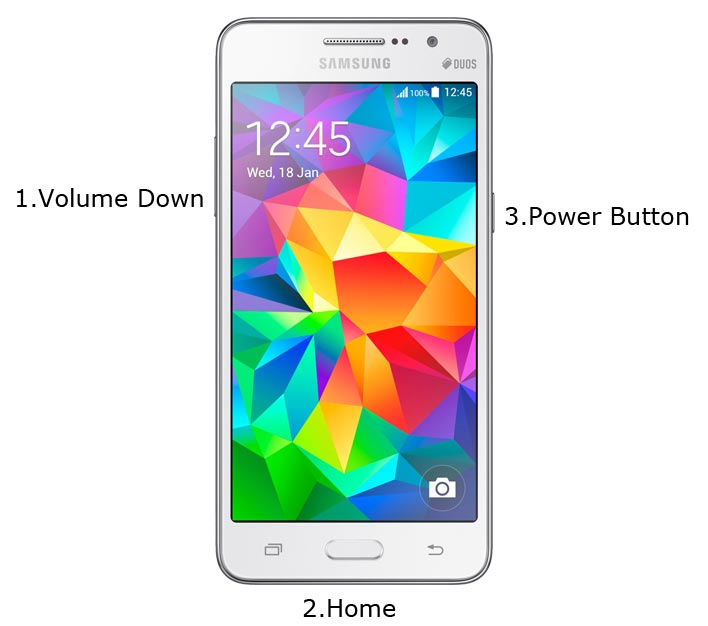 Samsung Galaxy Grand Prime Download Mode