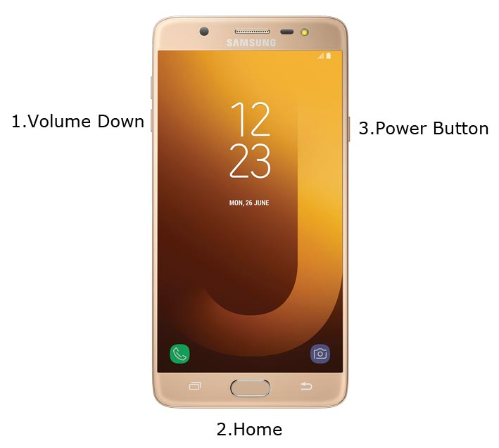 Samsung Galaxy J7 Max Download Mode