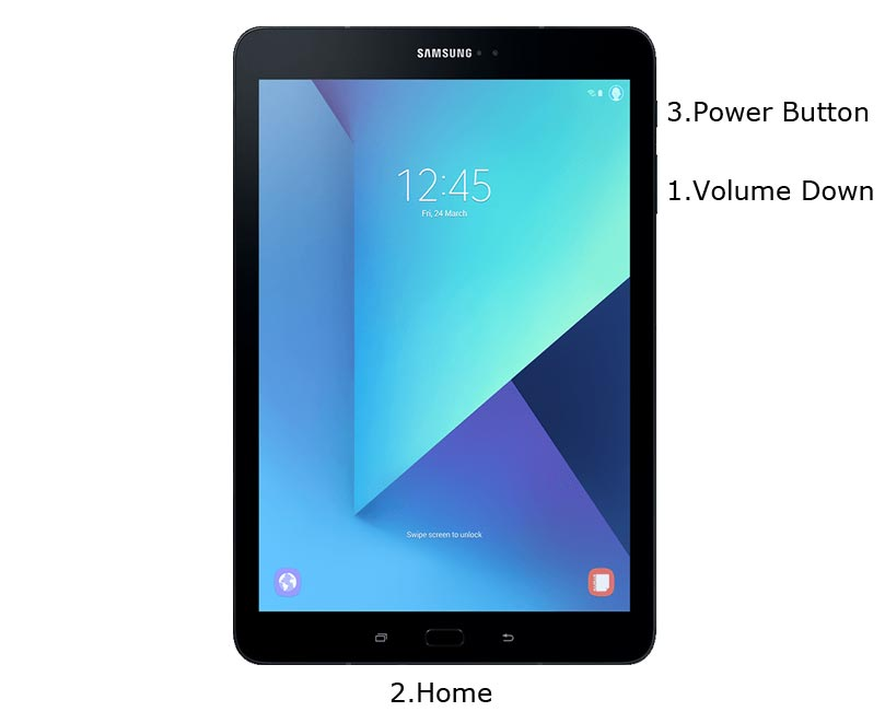 Samsung Galaxy Tab S3 Download Mode