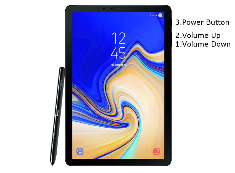 Samsung Galaxy Tab S4 Download Mode