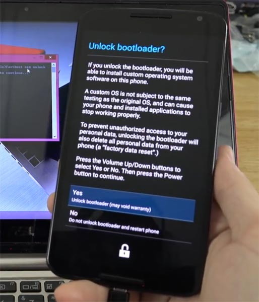 Google Nexus 6 Bootloader Unlock