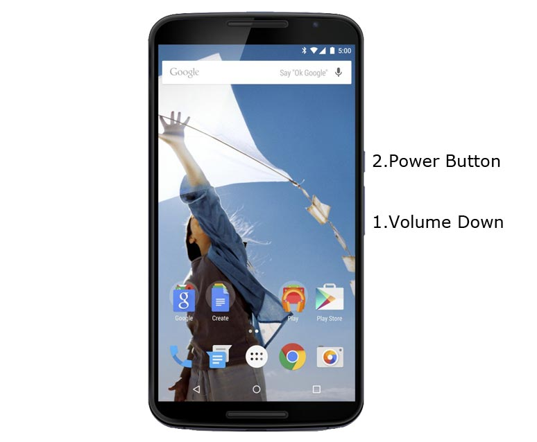 Google Nexus 6 Fastboot Mode