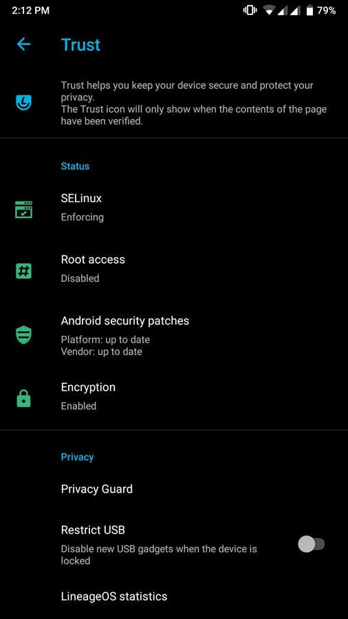 Lineage OS encryption