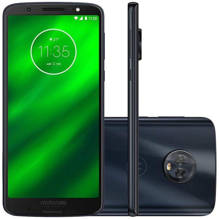 Moto G6 with White Background